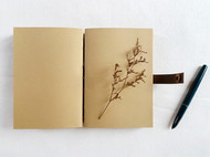 手工水洗牛皮纸多功能复古欧式线装创意笔记本 涂鸦旅行随身本子