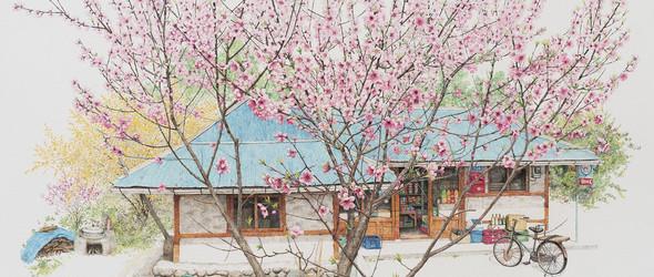 自成风景的街头杂货店:李美京