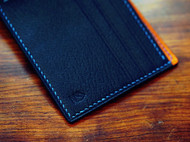 蓝紫色短夹
