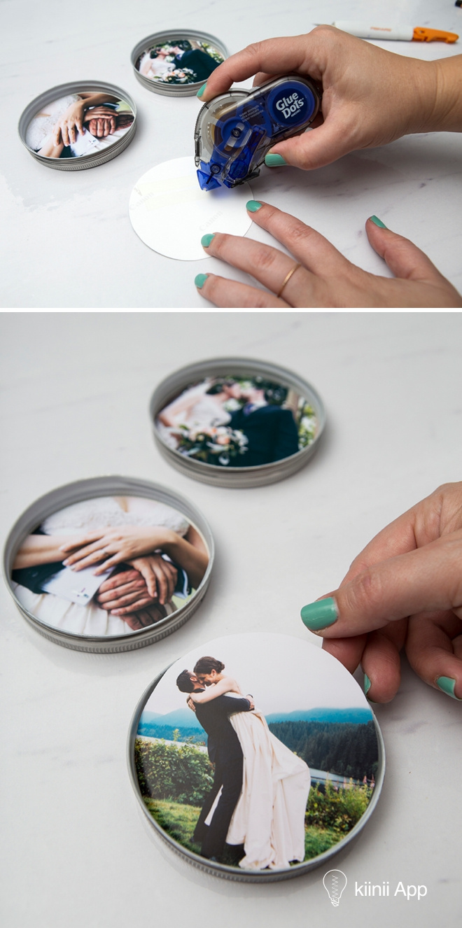 ie进不了qq空间_DIY创意:使用透明环氧树脂,将照片永远封存在梅森罐盖内 ...