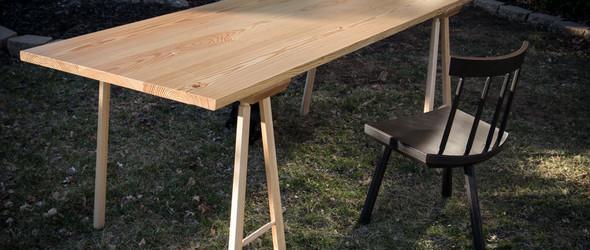 搁板桌(Table Trestles)手工制作全过程
