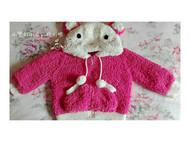编织娃娃绒绒衣