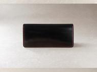 【杉本造作】黑色枥木 极简主义长夹