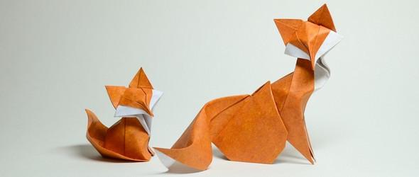 越南艺术家阮弘强(Hoang Tien Quyet)的折纸作品集