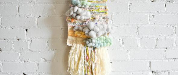 无尽的可能性:纺织艺术家 Joanna Schleimer 的手工编织挂毯与过程