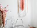 创意墙挂DIY教程:水管与纱线制作美丽的几何墙挂(挂毯)