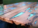 DIY夜光桌Glow table教程 - 超详细的手工制作夜晚发光的桌子或隔板过程和教程