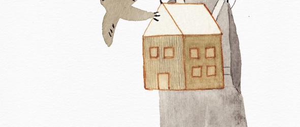 北欧风的温暖插画 - Julianna Bíbor