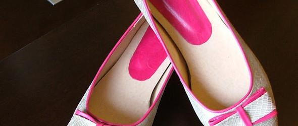 第一次制作的女鞋(部分过程)