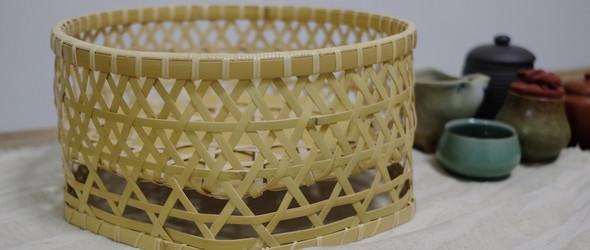 一个竹编茶笼的诞生