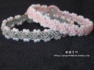 【囡囡手作】macrame手工编织米珠手链
