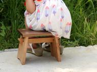 女孩小板凳  霸王淑女小背心板凳  黑胡桃板凳  风情万种小板凳 榫卯板凳