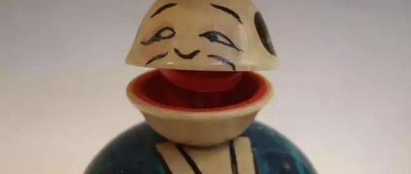 日本传统手工木质玩具
