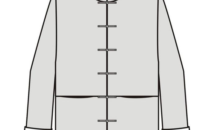 【单车裁缝】唐装1:1服装裁剪纸样改良唐装棉麻服中式袄子纸样
