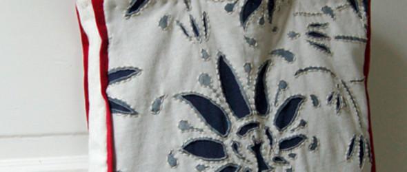 素雅清新的购物袋——手工布包DIY教程详解