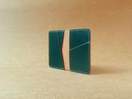 【杉本造作】Designer系列 墨绿色马缰革卡包/零钱包
