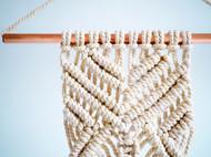 Macramer手工编织墙面装饰小挂毯