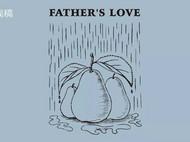 """风雨再大  也不分""""梨""""——送给父亲的一张礼物卡"""