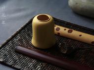 柒言原创-手工可定制茶桌摆件之花罐 高密度小叶黄杨手工制作而成
