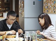 从中山特意过来广州两天上手作课,亲手做个Hera 14钻石包送给自己。