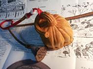 纯手工黄杨木雕活籽莲蓬