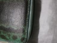 沙蟒蛇皮钱包