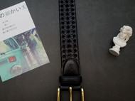 尚古仓原创设计编织头层皮个性皮带