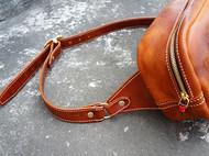 【白馬手造】 手工 皮具 胸包\挎包\骑行包