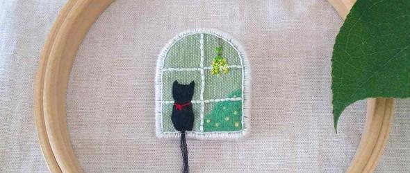 清新可爱的刺绣配饰 - @mo_ffu