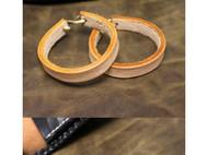 手工手链 手镯真皮 植鞣革美鞍革皮绳 头层牛皮 纯手工皮具手环