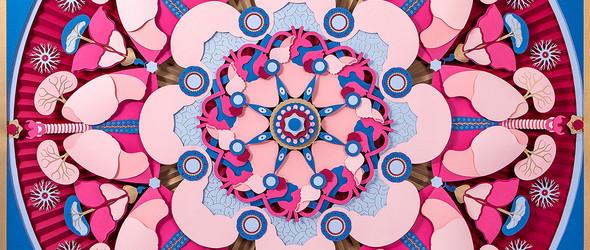 对称美学的圆形纸雕 | Makerie Studio