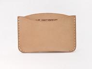 LINE ARTISANAL 原创零钱包 手缝卡包 植鞣皮卡套