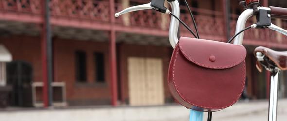 以自行车为中心的生活方式:日本maware手工自行车皮革配件品牌