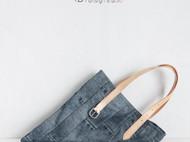 """""""Jeans""""托特包.A款"""