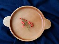 樱桃木双耳圆盘