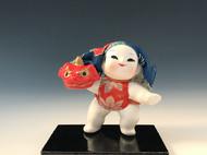 日本加贺人形 付纸箱