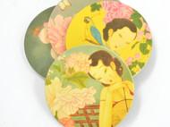 川朴原创艺术设计曹卫红系列杯垫