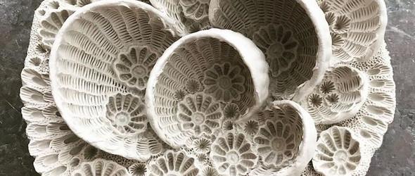 3D立体海洋生物陶瓷雕塑 | Lisa Seaurchin