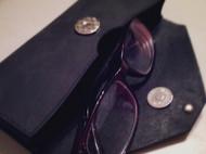 Ms elephant纯手工皮质定制眼镜包