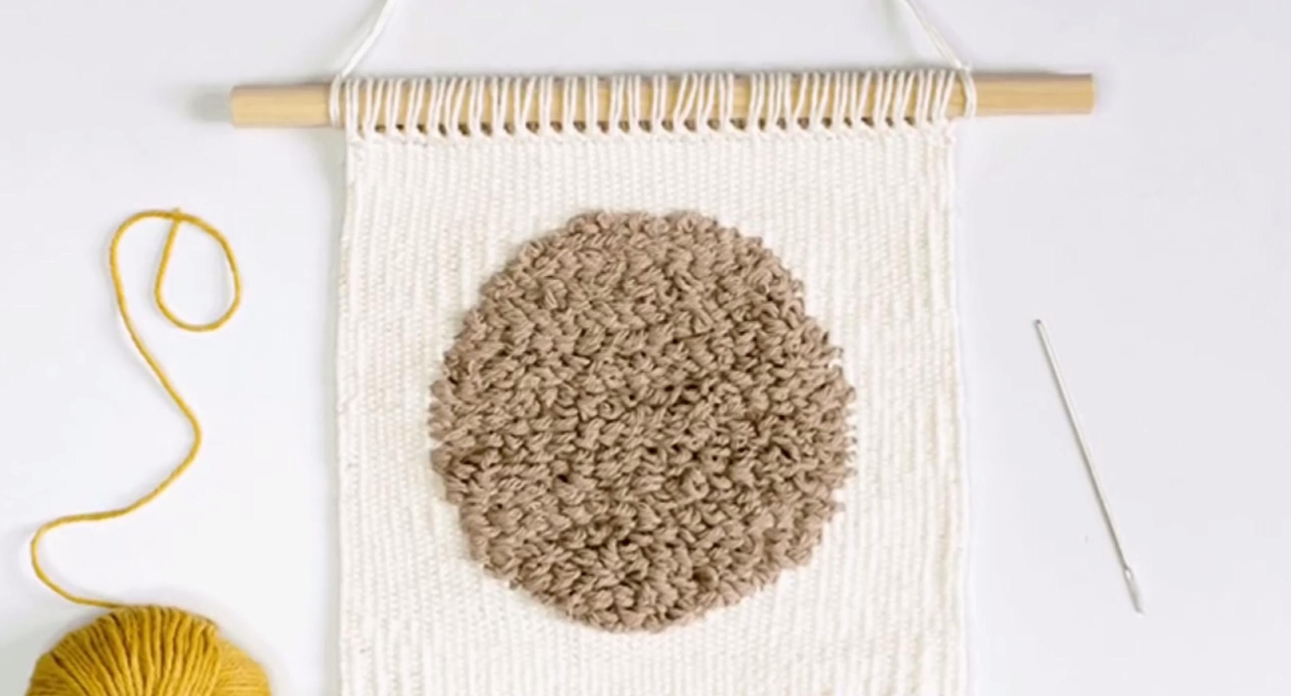 DIY编织挂毯 / DIY Weaving Tutorial
