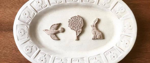 可爱的陶瓷配饰 | fuji-gallery