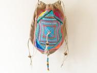 尼泊尔风串珠刺绣包手机包