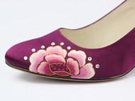 祖母绣堂 新品 国色倾城系列高跟鞋