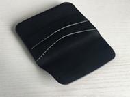 手工牛皮黑minerva box软植鞣革简约男士女士随身零钱包卡包
