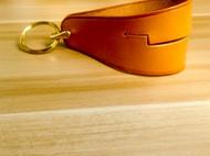 蝴蝶皮革手作-钥匙扣手机支架