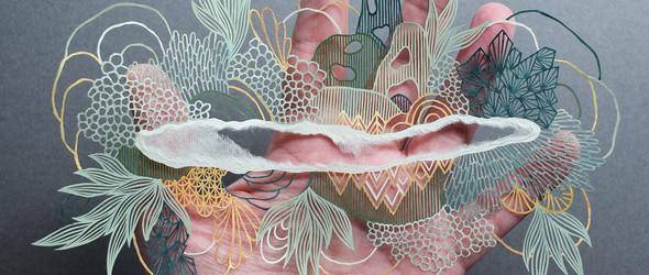 英国艺术家 Pippa Dyrlaga 的复杂彩色刻纸艺术