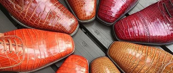 以采用怪异的兽皮缝制而闻名世界的手工定制鞋品牌,值得一看!