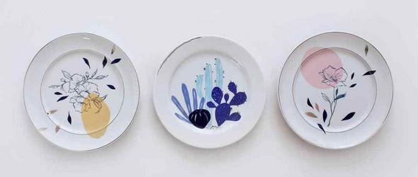 手绘陶瓷餐具 | Studio Pamelitas