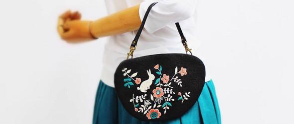 刺绣包袋 | Pangan Daran