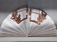 M.Q奎妮小姐 画扇/925纯银天然珍珠扇形耳钉